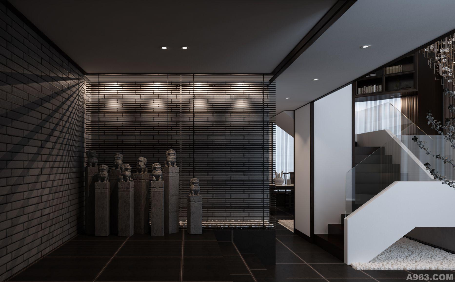 连云港小型禅意会所室内设计