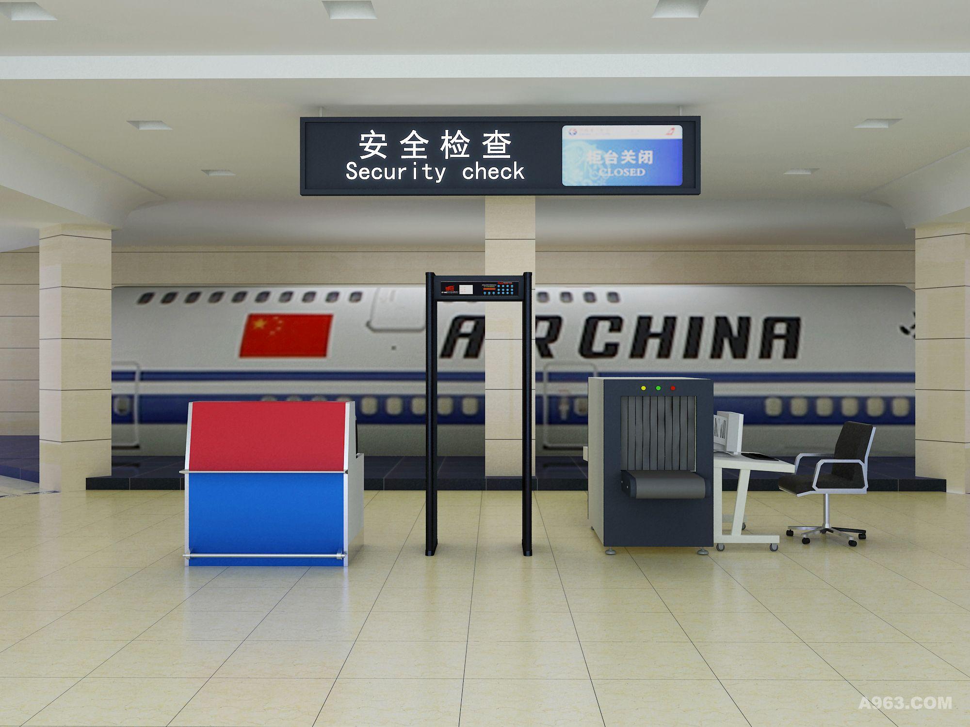 飞机场登机模拟培训基地